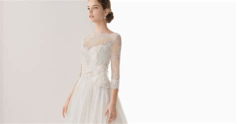 Wedding Dresses With Sleeves :  Wedding Dresses With Lace Long Sleeves And