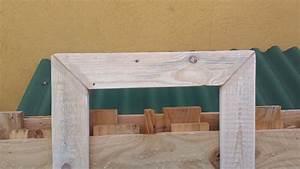 Créer Un Cadre Photo : comment fabriquer un cadre en bois vieilli palettes co ~ Melissatoandfro.com Idées de Décoration