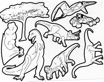 Dinosaurs Coloring Dinosaur Pages Types Children Dinos