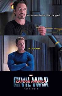 Civil War Captain America Meme