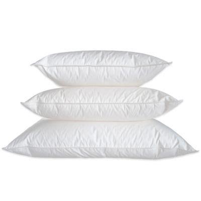 wamsutta comfort medium support buy firm support standard pillow from bed bath beyond