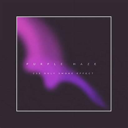 Purple Haze Smoke Effect Pure Css February