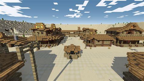 Minecrart  [Maps] Minecraft Desperado Wild West Map 164
