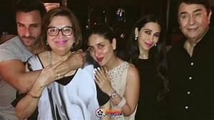 Randhir Kapoor Family Photos with Wife Babita, Daughters ...
