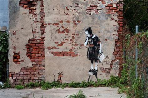 Banksy Graffiti New Orleans