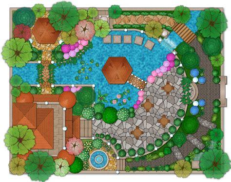 landscape design software draw landscape deck and patio