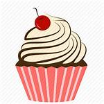 Cupcake Icon Bakery Cherry Cake Dessert Sweets