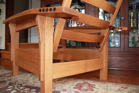 bow arm morris chair   hickeymad  lumberjockscom