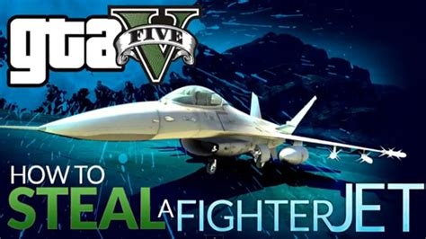 video   steal  military fighter jet  gta