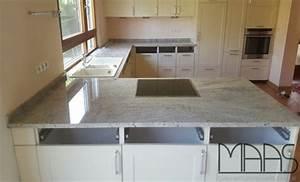 Arbeitsplatten Aus Granit : karlsruhe granit arbeitsplatten cielo white ~ Michelbontemps.com Haus und Dekorationen