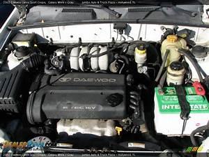 2002 Daewoo Lanos Sport Coupe 1 6 Liter Dohc 16