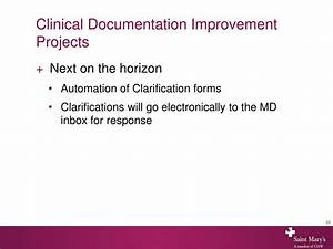 ppt clinical documentation improvement team powerpoint With clinical documentation improvement software