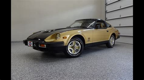 1980 Datsun 280zx by 1980 Datsun 280zx 10th Anniversary In Black Gold