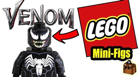 venom lego custom minifigures 2018
