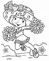 Strawberry Shortcake Coloring Printable sketch template