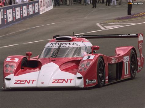 One Toyota by Toyota Gt One Race Version Ts020 1998 99 Wallpapers