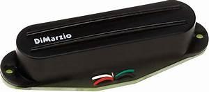 Dimarzio Dp182 Fast Track 2 Hum Cancelling Rails Strat