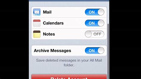 how to in iphone how to sign out of your email on iphone ipod