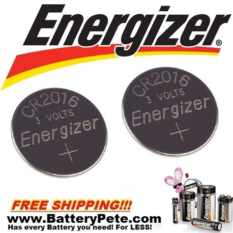 toyota camry key fob battery energizer cr