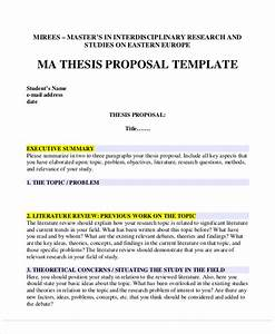 qualitative research thesis proposal sample letter