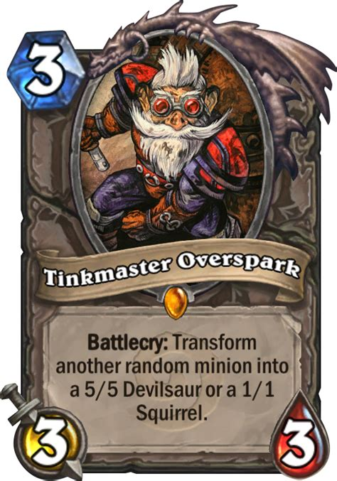 top tier decks hearthstone september tinkmaster overspark hearthstone card
