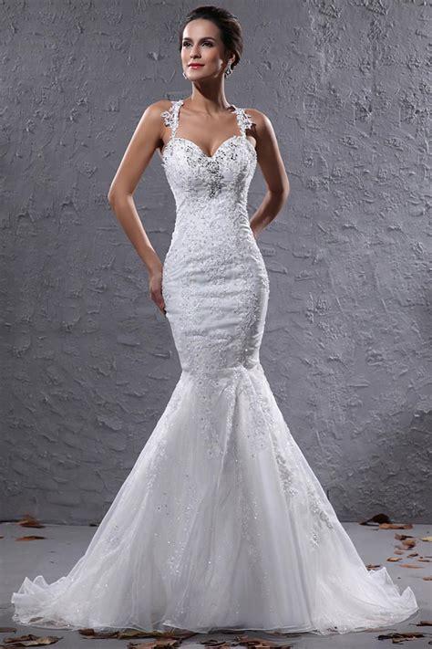 discount brand  mermaid halter sheer bodice wedding