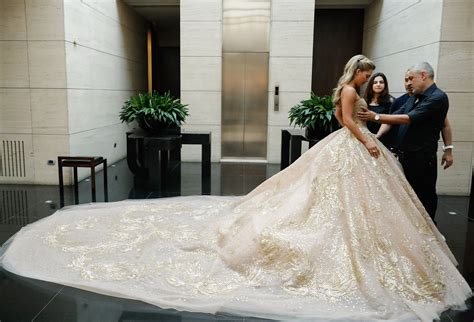 elie saab created     incredible wedding
