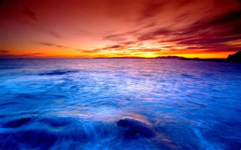 Ocean Sunset Wallpapers  Wallpaper Cave