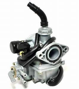 Carburetor Pz19 Dual Fuel Petcock Hand Choke For 50cc