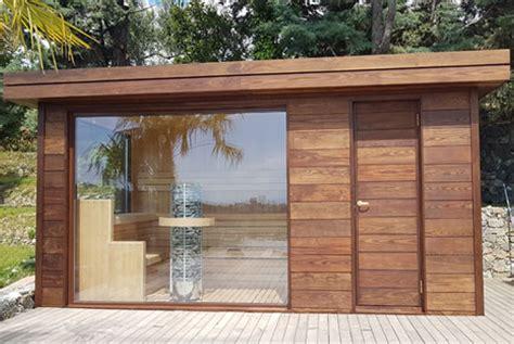 saune da giardino saune da esterno hydrius saune