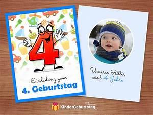 Kindergeburtstag 4 Jahre Mädchen : einladung 4 geburtstag kostenlose vorlagen zum ausdr cken ~ Frokenaadalensverden.com Haus und Dekorationen