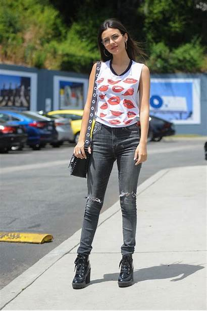 Justice Victoria Jeans Grunge Outfit Sunset Celebzz