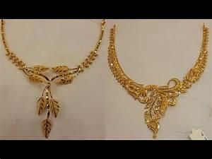 Gold Necklace Designs in 10 grams - 20 grams // 22k Gold ...