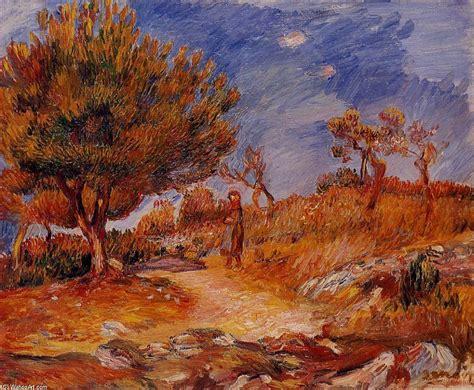 Paysage Femme Sous Un Arbre De Pierre Auguste Renoir