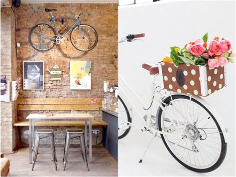 originales ideas  reciclar bicicletas