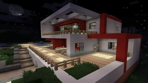 Minecraft Moderne Häuser Zum Nachbauen by Minecraft Modern House 1 Modernes Haus Hd