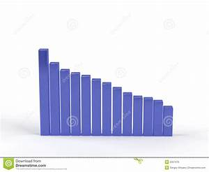 Anchor Growth Chart Descending Graph Stock Illustration Illustration Of