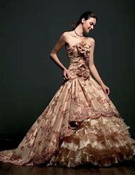 Elegant Colored Wedding Dresses