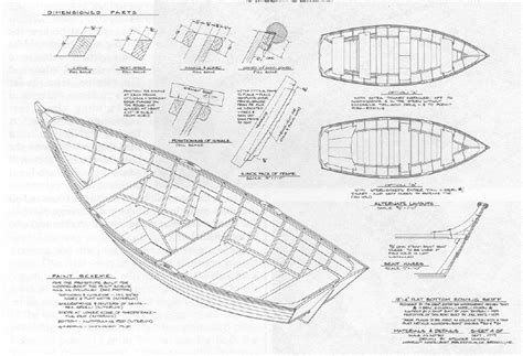 small wooden boat plans    build diy