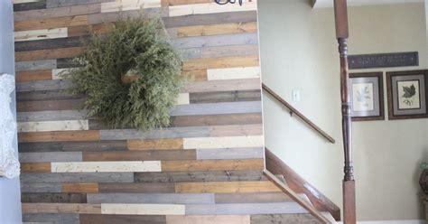 painted wood plank wall hometalk