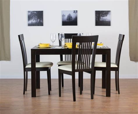 westport dining table set with hartford dining chairs in