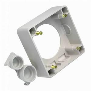 Montage Prise Electrique : cadre pour montage apparent pour 16 32a gris ~ Melissatoandfro.com Idées de Décoration