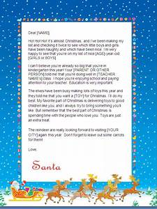 christmas letter borders free printable new calendar With personalised santa letter printable