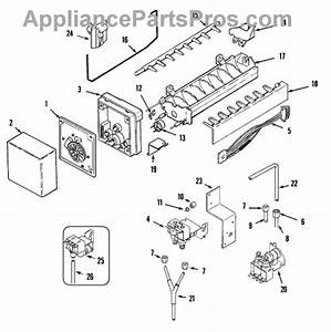 Parts For Maytag Msd2456gew  Ice Maker Parts