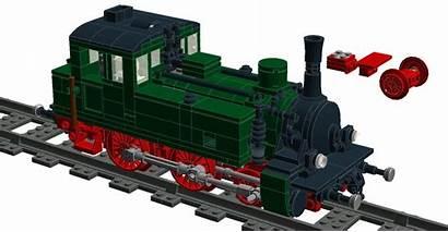 Steam Prussian Bricknerd Wheels Brick Railroader Building