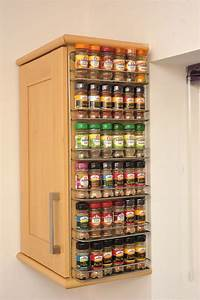 Spice rack, easy wall mount or cupboard fix