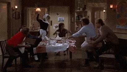Thanksgiving Fight Cheers Conversation Table Episode Orphans