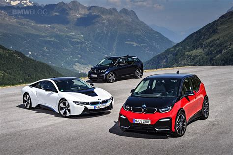 Family Photo Bmw I3 Facelift, I3s And I8 Hybrid