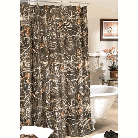 camo bathroom decor realtree max 4 camo shower curtain