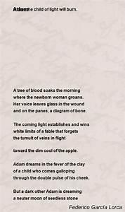 Adam Poem By Federico Garc U00eda Lorca